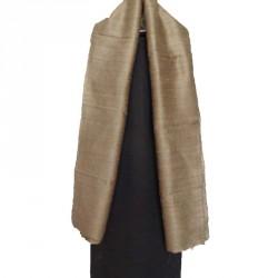 100% row silk scarf.