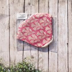 100% Silk. Satín silk. 180x90 cm.