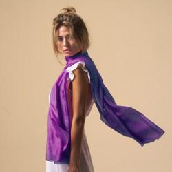 100% Silk. Sarong/Scarf  Oversize.