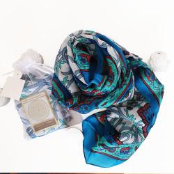 100% Silk. Printed silk.